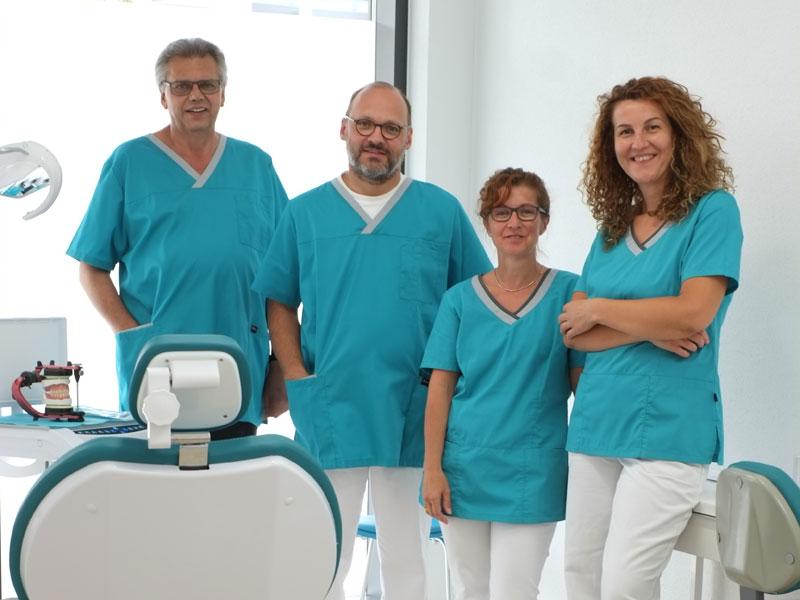 Praxis für Zahnprothetik - Das Team